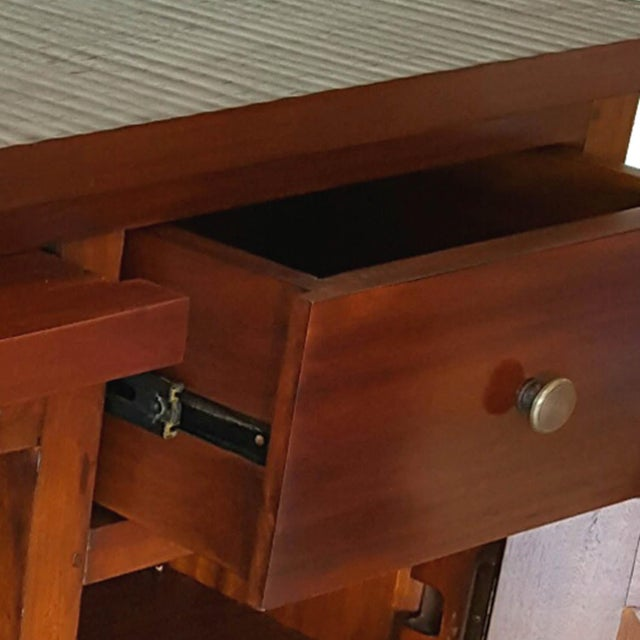 Mahogany Wood Bar Chest - Image 4 of 6