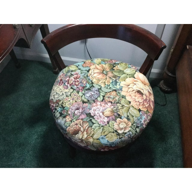 1960s Vintage Dressing Table and Stool For Sale - Image 12 of 12