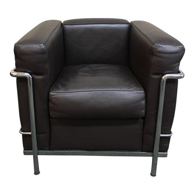 Le Corbusier Lc2 Poltrana Armchair For Sale