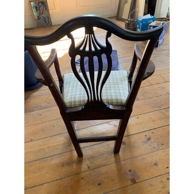 Late 18th Century American Chippendale Faux-Grained Armchair For Sale - Image 5 of 9
