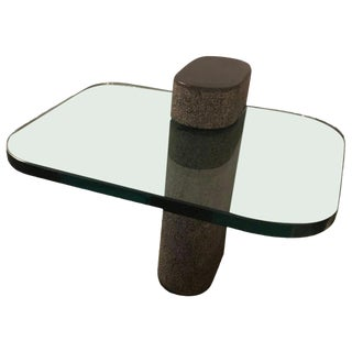 Vintage Karl Springer End or Side Table For Sale