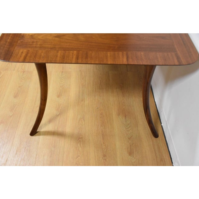T.H. Robsjohn Gibbings for Widdicomb Dining Table - Image 5 of 11