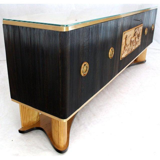 1940s Mid-Century Modern Osvaldo Borsani Extra Long Sideboard For Sale - Image 12 of 14