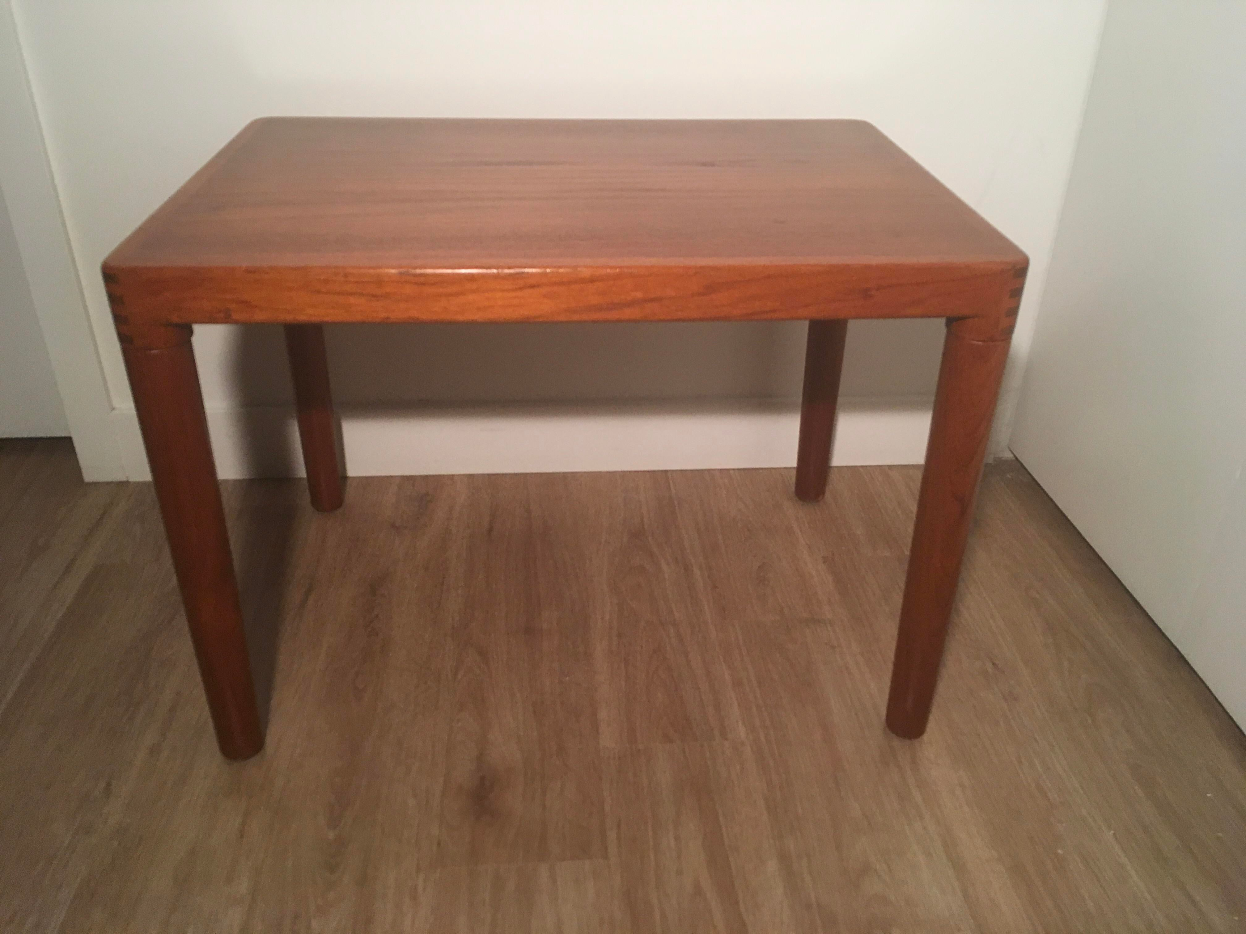 Teak Danish Side Table   Image 2 Of 9