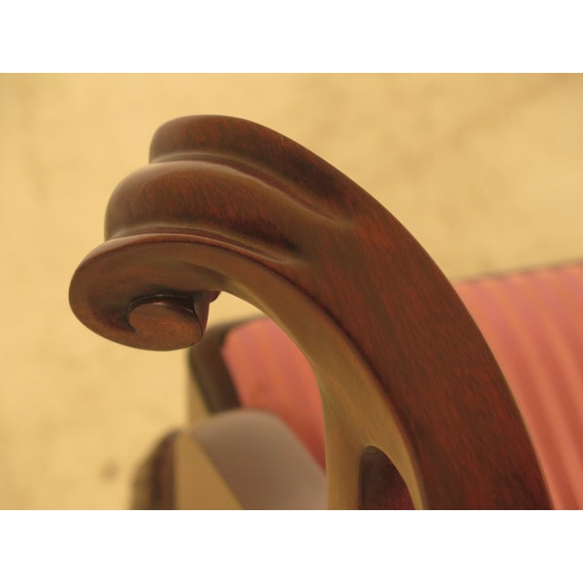 Henkel Harris Claw Foot Mahogany Dining Chairs - Set of 6 - Image 5 of 11