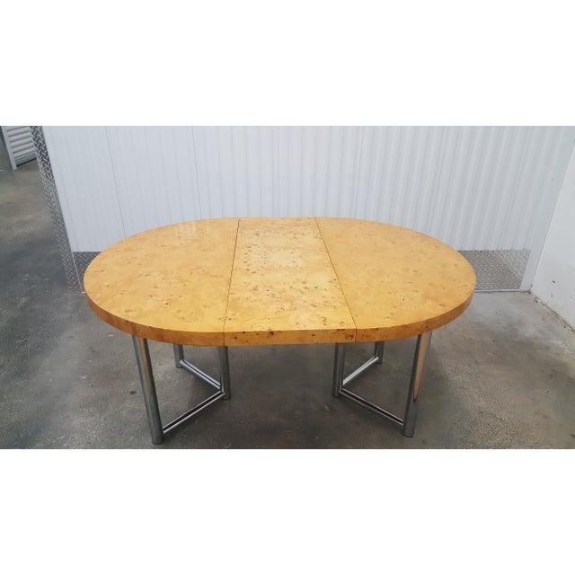 Mid-Century Modern Milo Baughman Dinner Table . For Sale - Image 12 of 13