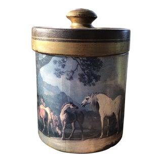 Vintage Comoy's of London Tobacco Jar For Sale