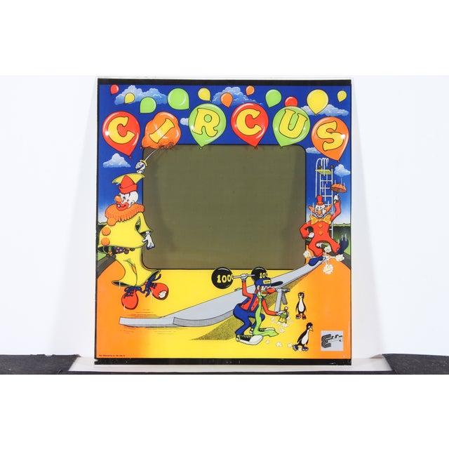 R&n Circus Pinball Backglass - Image 2 of 3
