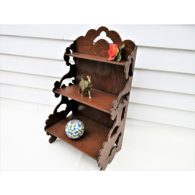 Wooden Tiered Display Shelf - Image 5 of 9