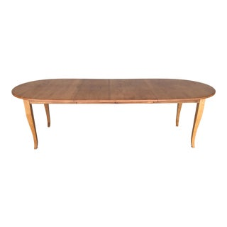"""Ethan Allen Country Colors 102"""" Dining Extension Table (14-6403) (214) For Sale"""