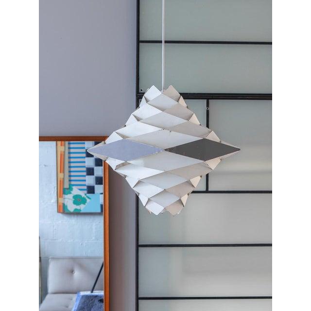 Symfoni Pendant Light by Preben Dahl for Hans Folsgaard For Sale In New York - Image 6 of 7