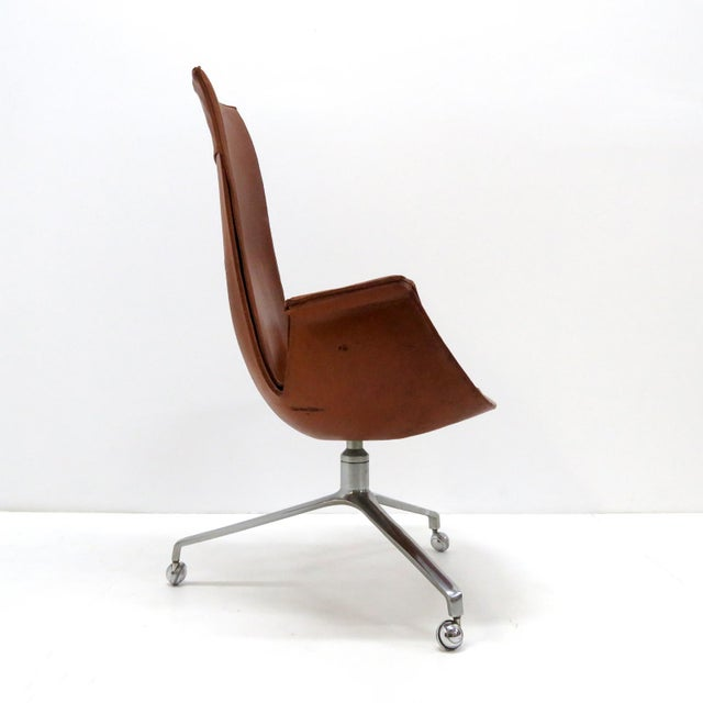 Alfred Kill 1960s Vintage Preben Fabricius Jorgen Kastholm Bird Chair For Sale - Image 4 of 12