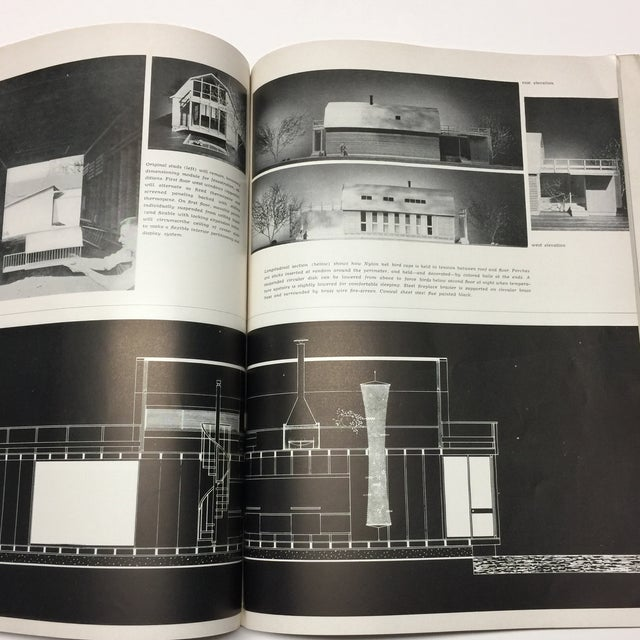 Black 1950s Vintage Interiors Architecture Magazine For Sale - Image 8 of 12