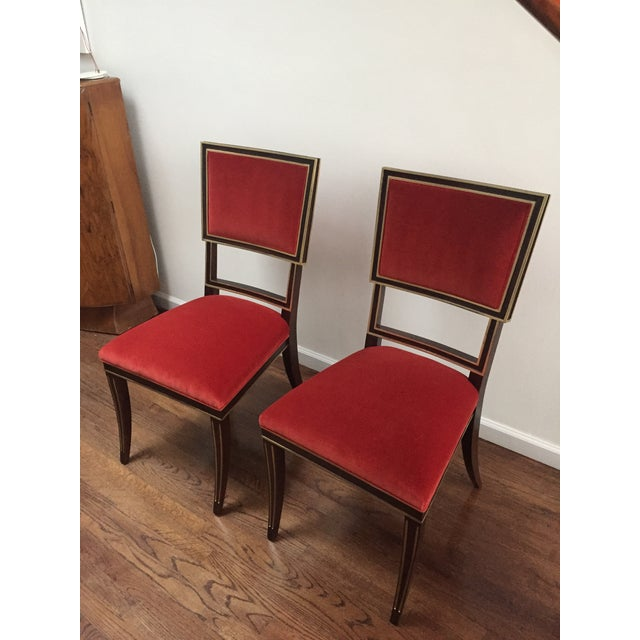 Contemporary Hickory Chair Ilsa Side Chairs - A Pair For Sale - Image 3 of 7