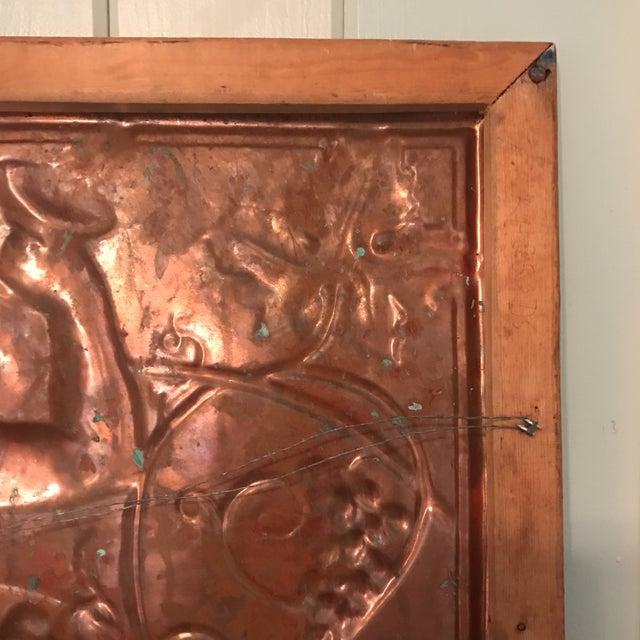 Victorian Copper Cherub Wall Panel For Sale - Image 11 of 11