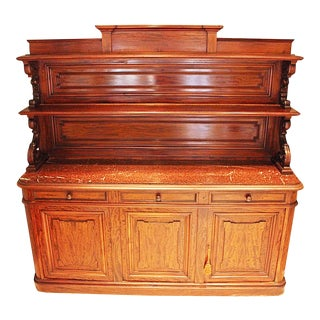 19th Century French Large Buffet For Sale