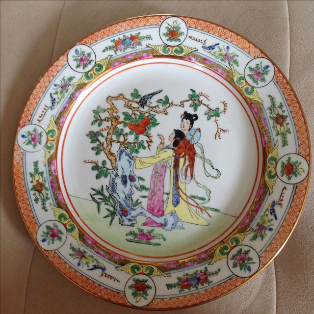 Antique Hand Painted Decorative Plate - Image 2 of 5