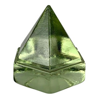 Ship's Green Glass Deck Prism For Sale