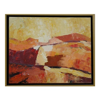 Original Laurie MacMillan Abstract Landscape Painting For Sale