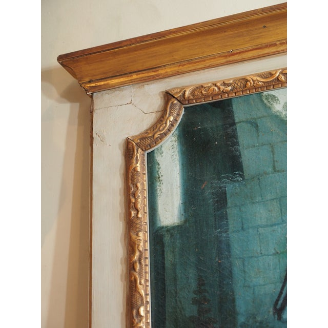 19th Century French Trumeau Mirror - Image 3 of 8