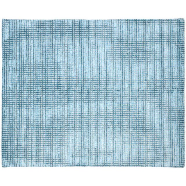 Contemporary Beach Style Area Rug - 8′1″ × 9′10″ For Sale In Dallas - Image 6 of 10