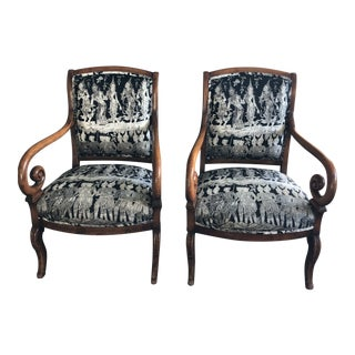 English Regency Chairs- A Pair For Sale
