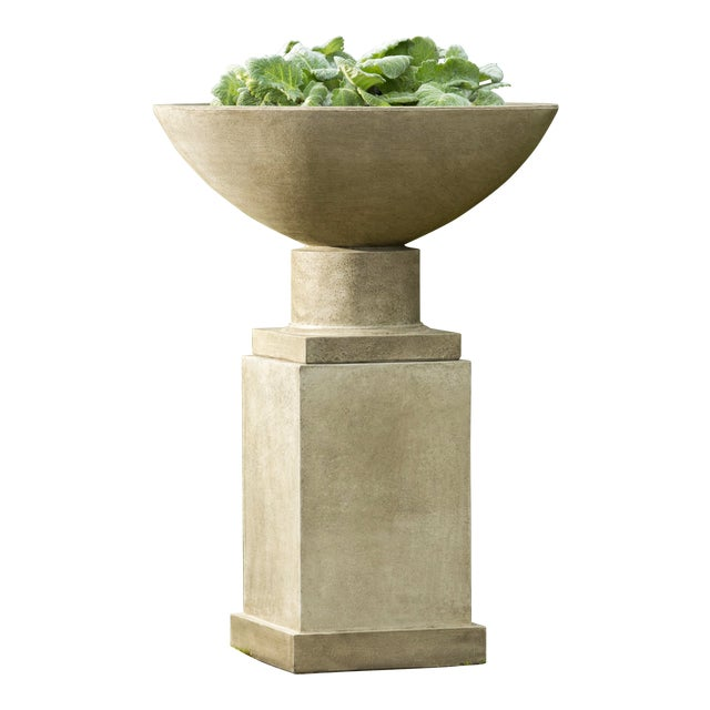 Dauphine Planter & Pedestal For Sale