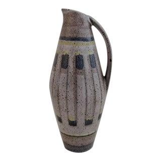 Vintage German Vase With Handle For Sale