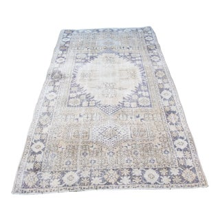 Handmade Double-Knotted Turkish Rug For Sale