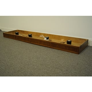 """20th Century Traditional Thomasville Furniture Continuity Collection Pier Group 80"""" Light Bridge Preview"""