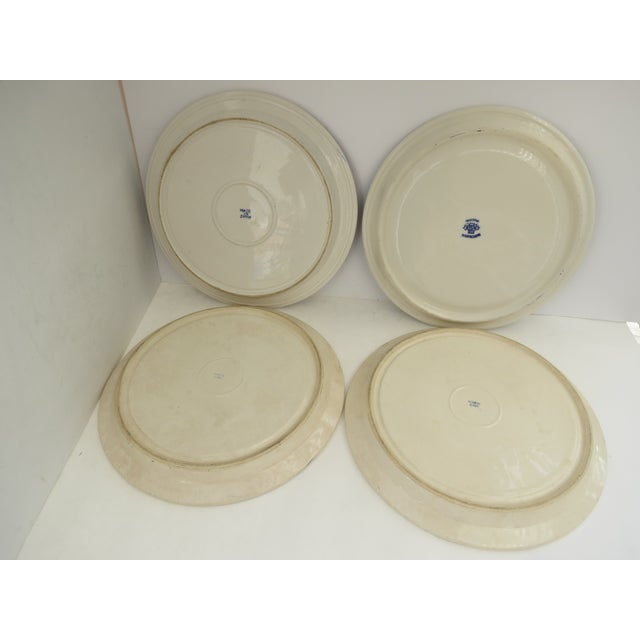 Blue Willow Grill Plates - Set of 4 - Image 8 of 8