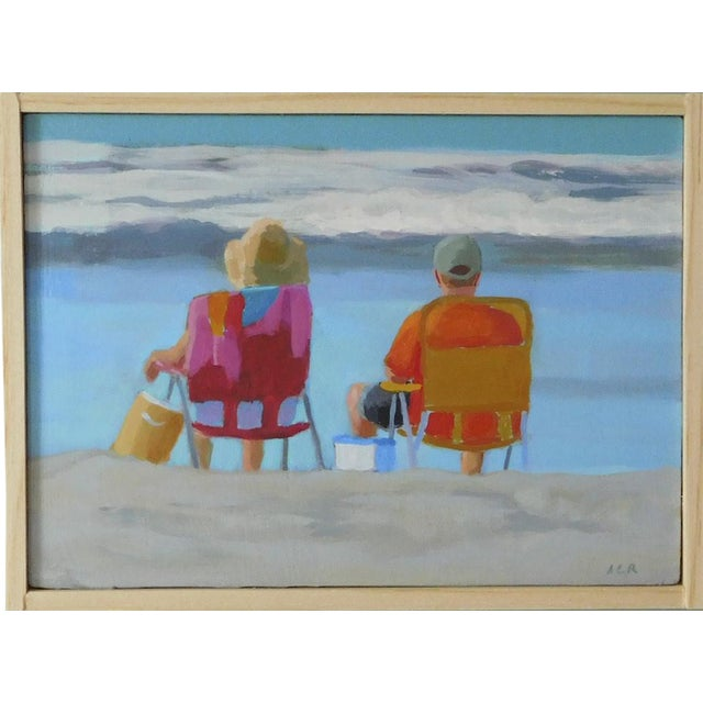 """Anne Carrozza Remick """"August"""" Painting - Image 1 of 5"""
