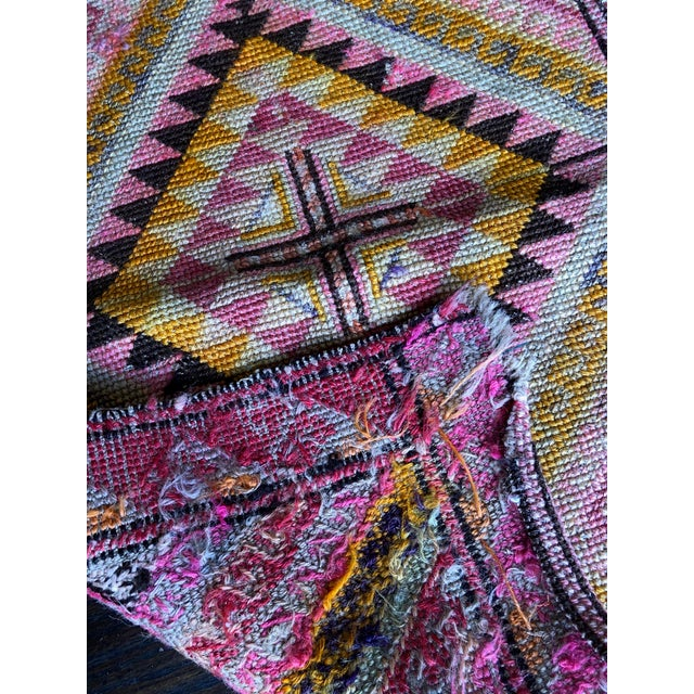 Contemporary 1980s Vintage Handmade Kilim Rug - 1′ 9''× 2′10'' For Sale - Image 3 of 4