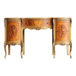 Vintage French Provincial Writing Desk For Sale