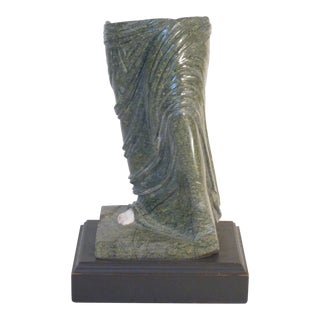 Vintage Mid Century Classical Marble Fragment For Sale