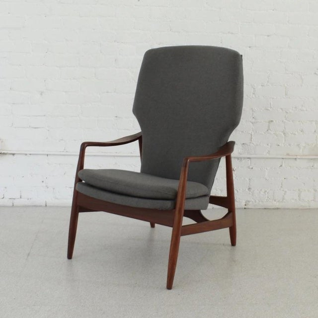 Mid-Century Modern Vintage Finn Juhl Model 1 Lounge Chair For Sale - Image 3 of 7