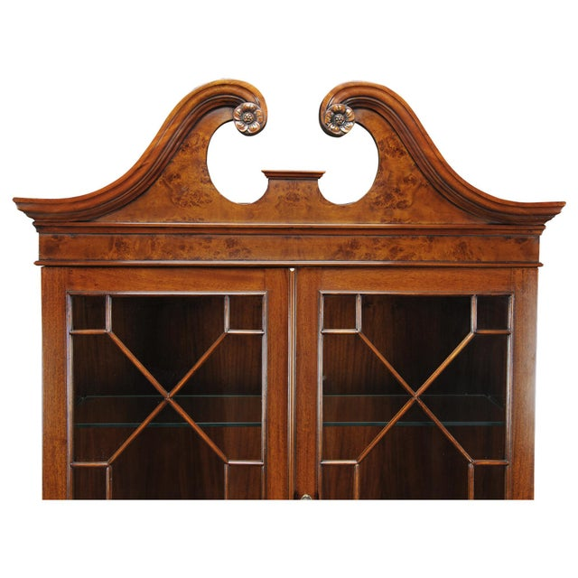 This Burled Secretary Desk from Niagara Furniture has all the features of an antique original. Made of high quality...