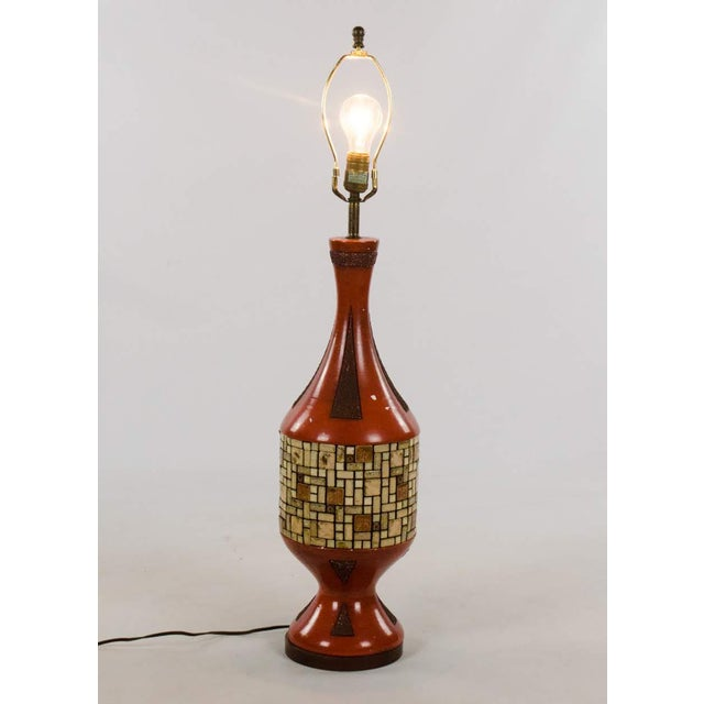 Westwood Lamps Mid-Century Ceramic and Tile Westwood Table Lamps - a Pair For Sale - Image 4 of 13
