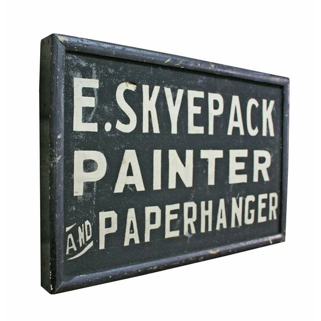 E. Skyepack Painter & Paperhanger Sign - Image 2 of 3