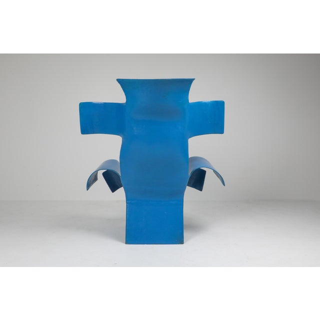 Resin Functional Art Chair in the Style of Gaetano Pesce - 1980s For Sale - Image 7 of 11