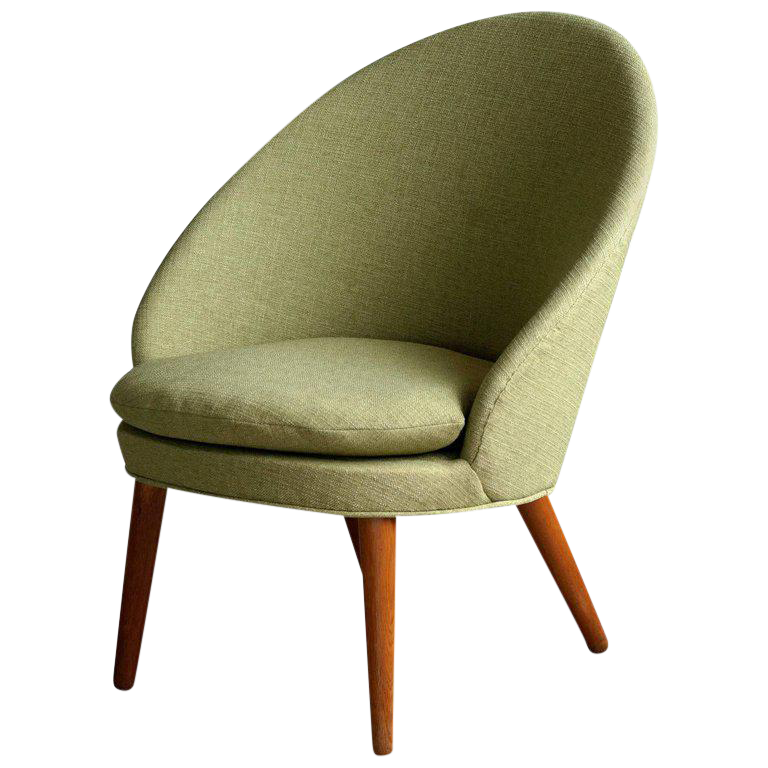 Ejvind A. Johansson For Gotfred H. Petersen Model 301 Easy Chair