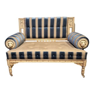 19th Century Vintage Victorian Settee For Sale