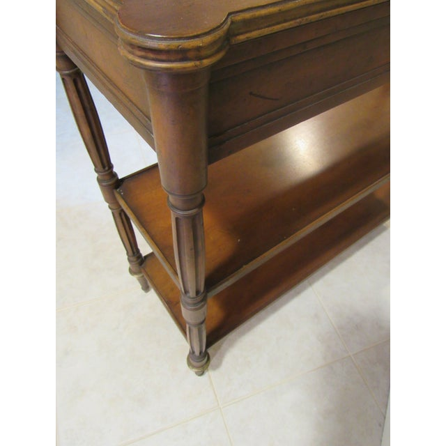 Metal Console Table by Baker Furniture For Sale - Image 7 of 11