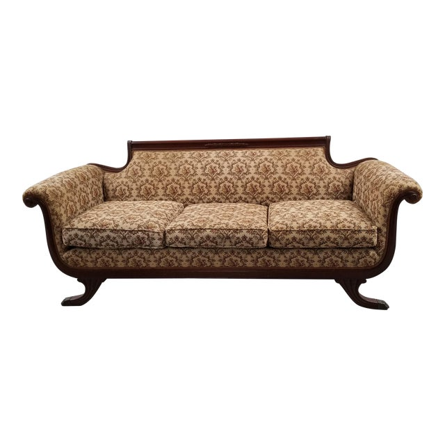 Early 20th Century Vintage Suggs & Hardin Hickory NC Sofa For Sale