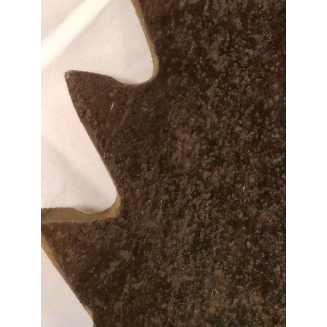 Antique Handhewn Iron Circular Saw Blade - Image 4 of 4