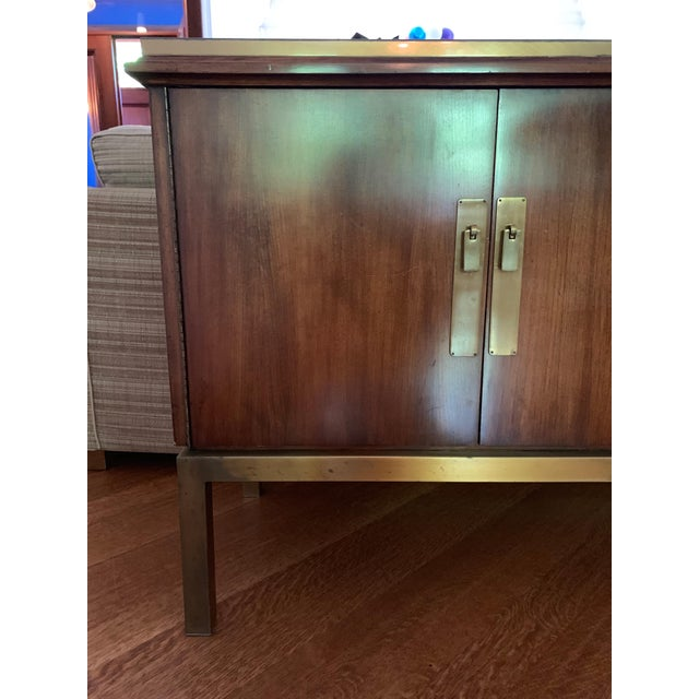 Mid Century Modern Style Mahogany Console For Sale In Boston - Image 6 of 7