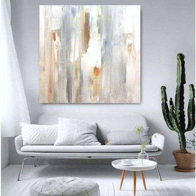 'GHOST RANCH' Original Abstract Painting by Linnea Heide - Image 3 of 8