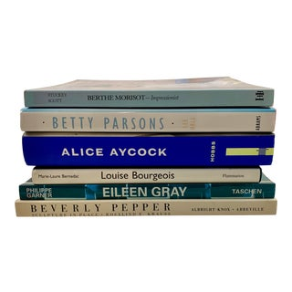 Women Artists, Designers, Sculptors - Bourgeois, Parsons, Aycock, Pepper - Books - Set of 6 For Sale