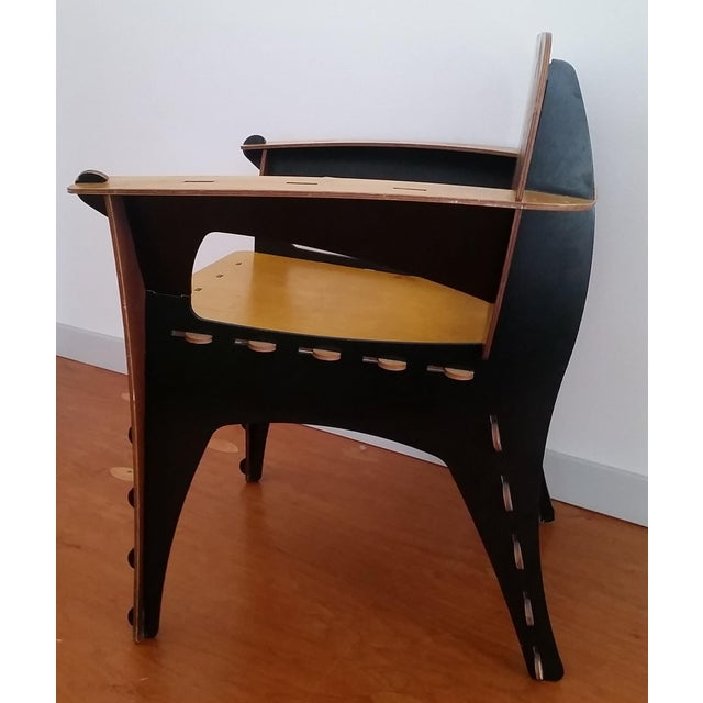 David Kawecki Modern David Kawecki Puzzle Chair Vintage For Sale - Image 4 of 6