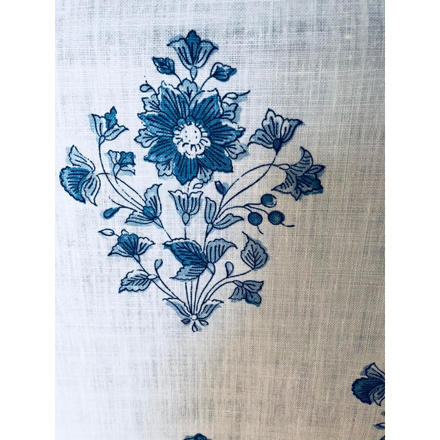 Cottage Schumacher Beatrice Bouquet Fabric For Sale - Image 3 of 8